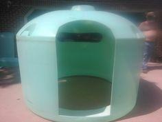 Water Tank Deer Blind With Window Open Water Tank Deer