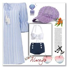 """""""lovely summer"""" by ajsajunuzovic ❤ liked on Polyvore"""