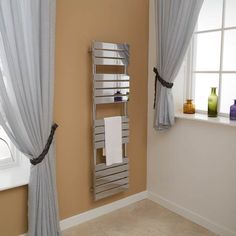 Lorenzo Beta Heat 1600 x 450 Heated Towel Rail  - Stainless Steel Bathroom Radiators - Better Bathrooms