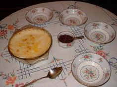 Semolina Pudding yummy served with jam . Semolina Pudding, Semolina Cake, Coconut Pudding, Bread And Butter Pudding, Coconut Oil, Pecan Pie Cake, Pecan Pies, British Desserts, British Recipes
