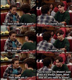 Shawn an Cory such good friends.:)