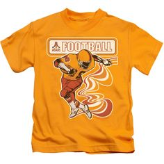 """Checkout our #LicensedGear products FREE SHIPPING + 10% OFF Coupon Code """"Official"""" Atari / Football Player-short Sleeve Juvenile 18 / 1-gold-sm(4) - Atari / Football Player-short Sleeve Juvenile 18 / 1-gold-sm(4) - Price: $24.99. Buy now at https://officiallylicensedgear.com/atari-football-player-short-sleeve-juvenile-18-1-gold-sm-4"""