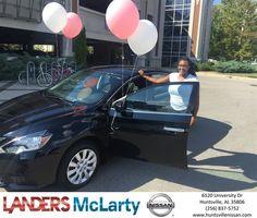 Congratulations Quanesha on your #Nissan #Sentra from Delyeonne Walton at Landers McLarty Nissan !  https://deliverymaxx.com/DealerReviews.aspx?DealerCode=RKUY  #LandersMcLartyNissan