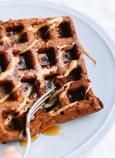 Gluten Free Buckwheat Waffles --sub coconut or soy for buttermilk