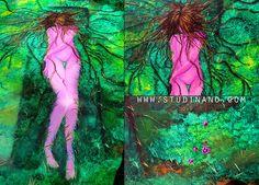 Second Life  Peinture acrylique sur toile  50cm/61cm  Plus d'informations et vue complète sur : http://www.studinano.com/  Facebook : https://www.facebook.com/ByShou