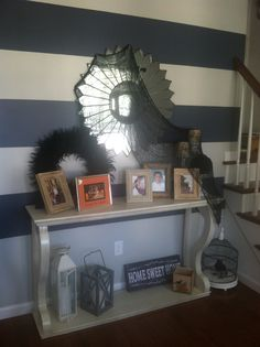 Our Halloween foyer #homesweethome. #halloweendecor. #foyer