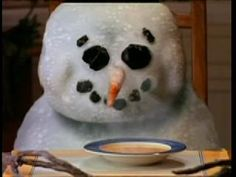 Campbell's melting snowman chicken noodle soup commercial or.even of the only commercials I remember from my childhood 90s Childhood, My Childhood Memories, Christmas Fun, Vintage Christmas, 90s Nostalgia, 80s Kids, I Remember When, Oldies But Goodies, Back In My Day