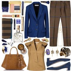 """""""A Rainbow of Blazers"""" by designsbytraci on Polyvore"""