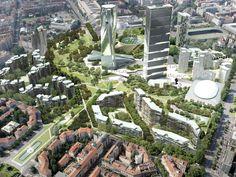 Citylife Park, Milan - Vittorio Grassi Architetto And Partners