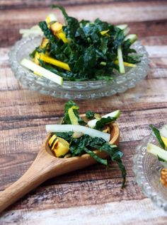 With lacinato kale, julienne beets, apples, and daikon, roasted ...