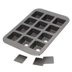 Baker's Pride Professional 12 Square Cup Pan