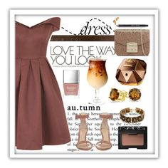 """""""Untitled #80"""" by whatsmynameriri ❤ liked on Polyvore featuring Chi Chi, Gianvito Rossi, Furla, Bling Jewelry, NARS Cosmetics, Butter London, Paco Rabanne and Bobbi Brown Cosmetics"""