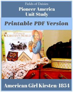 65 Pages of FUN Learning about Pioneer America! Perfect companion to Fields of Daisies FREE Pioneer America Unit Study! History for kids should never be boring ! History For Kids, Study History, Nasa History, Ancient World History, Daisy Field, Early American, American Girls, Book Lists, American History