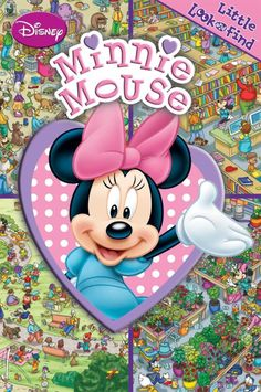 Little Look and Find Disney Minnie Mouse Clubhouse