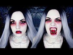 VAMPIRE | Halloween Makeup Tutorial | Cherry Wallis - YouTube