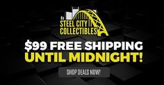 We have hundreds of deals ending @ Midnight  Free Shipping on all orders over $99!  Shop now: http://ift.tt/1kiZmnP  #baseball #football #hockey #basketball #sale #panini #leaf #upperdeck #topps #thehobby #whodoyoucollect
