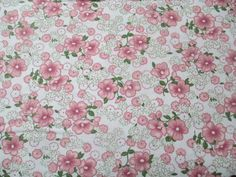 Pink Multi Flowers Fabric  Robert Kaufman  by QuiltsFabricandmore