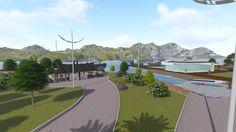 projeto revitalização porto dos pescadores Bairro da Barra-BC
