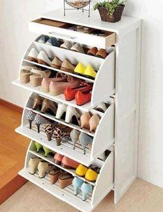 Shoe display. I want one!!!!