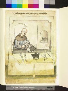 Mendel Housebook, Amb. 317.2° Folio 39 verso, c 1425, Nuremberg (Nürnberg)