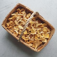 Seasonal product in Finland in the autumn chanterelle #healthyfuture