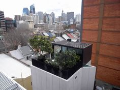 Very small house by Domenic Alvaro in Surry Hills, Sydney, Australia. This must be one of my favorite Australian houses, because it's build on a very small piece of land, but with a smart layout and great city views.