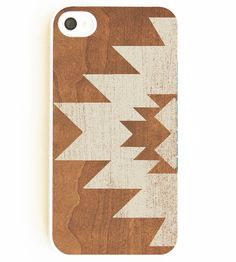 Geometric Aztec Faux Wood iPhone Case by One Your Case on Scoutmob Shoppe. An opaque tribal pattern over a faux-wood background. Available in a tough, accident-proof case for you, butterfingers.