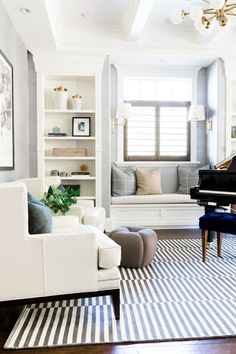 Distinctive Gifts Mean Long Lasting Recollections Mountainside Remodel Piano Room Studio Mcgee Living Room Inspiration, Room Remodeling, Cheap Home Decor, Family Room, Home And Living, Family Room Decorating, Living Room Remodel, Interior Design, House Interior