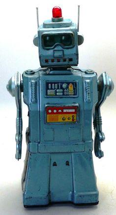 ✝☮✿★ ROBOT ✝☯★☮  1963 Original Yonezawa Directional Robot Japan RARE Version Vintage No Reserve | eBay