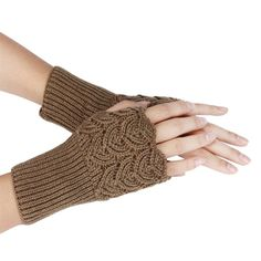 >> Click to Buy << Hot 2017 Women Wool Arm Warmers Winter Fashion Fingerless Gloves button Knitted Mitten Short Gloves guantes tactical gloves 330 #Affiliate