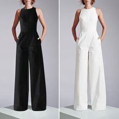 Best 11 Description Product Name Gorgeous Wide Leg Jumpsuit With Pockets Brand Name Koalasnow SKU Gender Women Season Spring/Summer Type Lady/Elegant/Fashion Occasion Office/Daily life/Date Pattern Plain Please Note: All dimensions are measu Casual Jumpsuit, Jumpsuit Dress, I Dress, Wedding Jumpsuit, Wide Leg, Fashion Dresses, Legs, Womens Fashion, Pockets