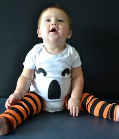 pumpkin leg warmers...adorable
