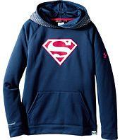 Under Armour Kids  UA Alter Ego Superman Reflective Storm Hoodie (Big Kids)