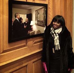 Keshia Knight Pulliam,Ohhh… Just chillin in The White House!!