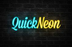 Quick Neon Effect – Photoshop Actions