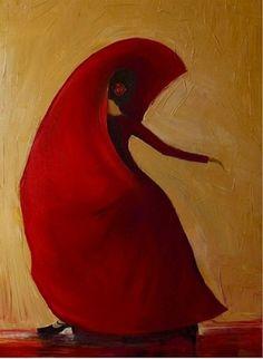 "Saatchi Online Artist: Justyna Kopania; Oil, 2011, Painting ""Flamenco"""
