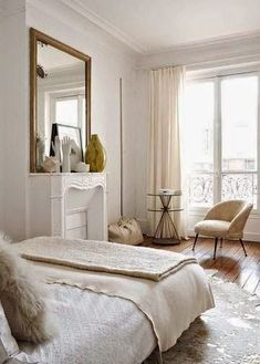 South Shore Decorating Blog: Beautiful Bedrooms.....how could you not love waking up to that view