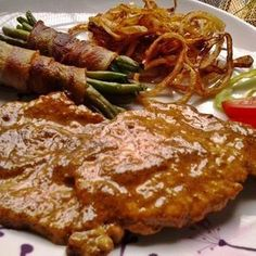 Meat Recipes, Chicken Recipes, Cooking Recipes, Food 52, Diy Food, Hungarian Recipes, Pork Dishes, No Cook Meals, Food To Make