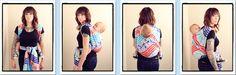 Back Cross Carry / BCC  {from Babywearing 102: Wrapping 360 Project}   ***long wrap carry