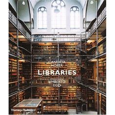 "Eye candy for the bibliophile- ""Libraries,"" 137 color plates selected by Candida Hofer, introduction by Umberto Eco."