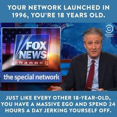 Fox News acting its age