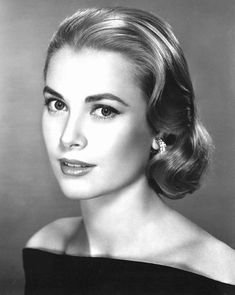 Grace Kelly -- Don't care for most of the famous - or infamous - that Hollywood cranks out now. But Grace Kelly is an exception. Such grace, such beauty, such a lady. Where have all the real ladies gone? Nicole Kidman, Hollywood Glamour, Hollywood Stars, Classic Hollywood, Old Hollywood Waves, Hollywood Makeup, Golden Age Of Hollywood, Vintage Hairstyles, Beauty Hacks