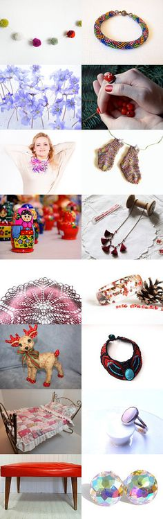 Christmas gifts by Asta Kundelyte on Etsy--Pinned with TreasuryPin.com