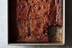 Chocolate Mochi Snack Cake recipe: Inhalable. #food52. #gf, #gluten-free
