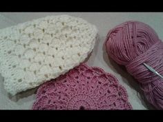 Шапка крючком. Часть 1// Women's hats knitting - YouTube