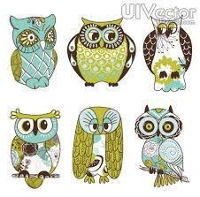 painted owl - Buscar con Google