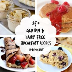 25+ dairy free and gluten free breakfast recipes