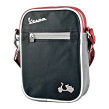 Vespa Small Bag Black and red by Vespa