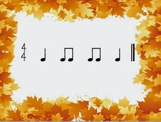 MLT, easy as Do Re Mi:   A Music Learning Theory classroom: Autumn rhythms to read!