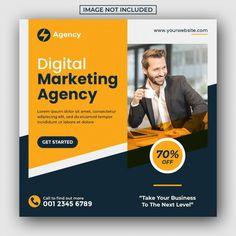 Social Media Poster, Social Media Banner, Social Media Design, Web Banner, Header Banner, Banner Design Inspiration, Business Marketing, Facebook Marketing, Digital Marketing